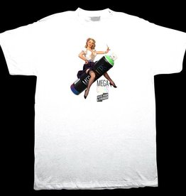 BDH Tee - Mega Girl - White