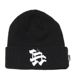 Dissizit Beanie - LA Brush Black