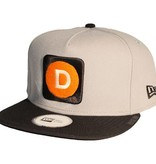 Dissizit NE Snapback - D Line - Grey/Black