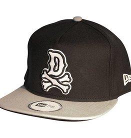 Dissizit NE Snapback - DBones - Black/Grey