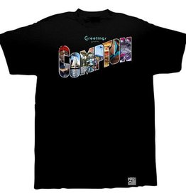 Dissizit Tee - Greetings - Black