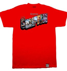 Dissizit Tee - Greetings - Red