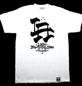 Dissizit Tee - LA Brush - White