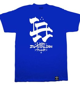 Dissizit Tee - LA Brush - Royal