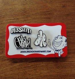 Dissizit Pin Set - Classic - White
