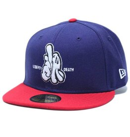 Dissizit NE Fitted - L or D - Navy/Red
