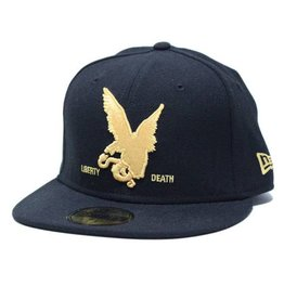 Dissizit NE Fitted - Eagles Landing - Blk w/Gld