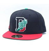 Dissizit NE Fitted - D-Wing 2012 - Black/Red