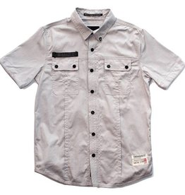 Dissizit S/S Button Up - SSDD - Grey