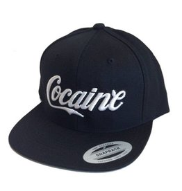 Dissizit Yupoong Snapback - Enjoy Cocaine - Black