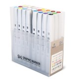 MTN 94 Graphic Marker w/Pastel 24pk