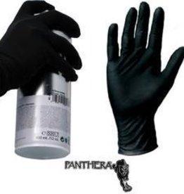Panthera Latex Gloves - Black Medium 100pk
