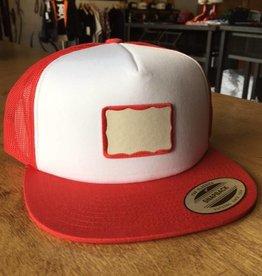 BDH Trucker - Badge - Red/White