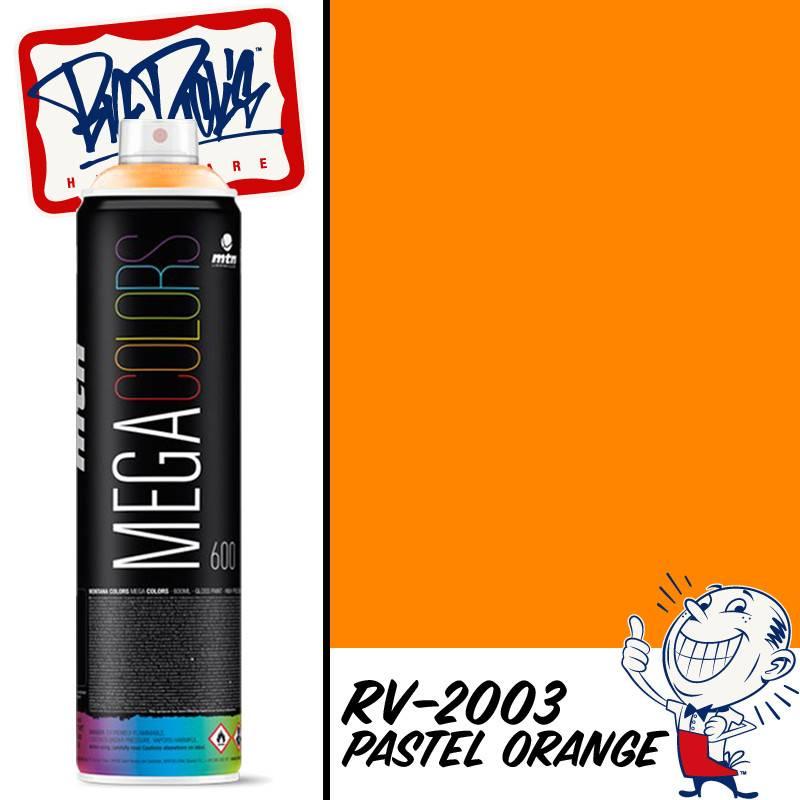 Mtn Mega Spray Paint Pastel Orange R 2003