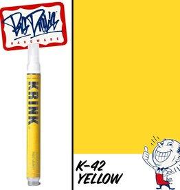 Krink K-42 Paint Marker - Yellow