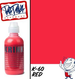Krink K-60 Squeezable Paint Marker - Red