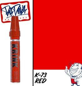 Krink K-73 Bleed Thru Marker - Red