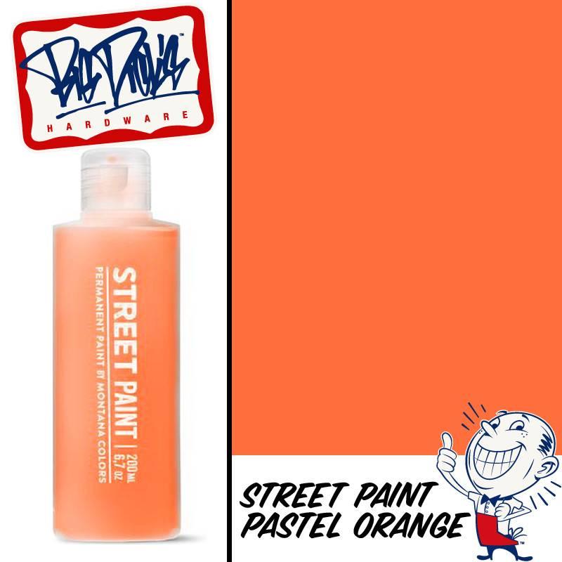 Mtn Street Paint Pastel Orange 200ml