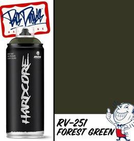 MTN Hardcore 2 Spray Paint - Forest Green RV-251