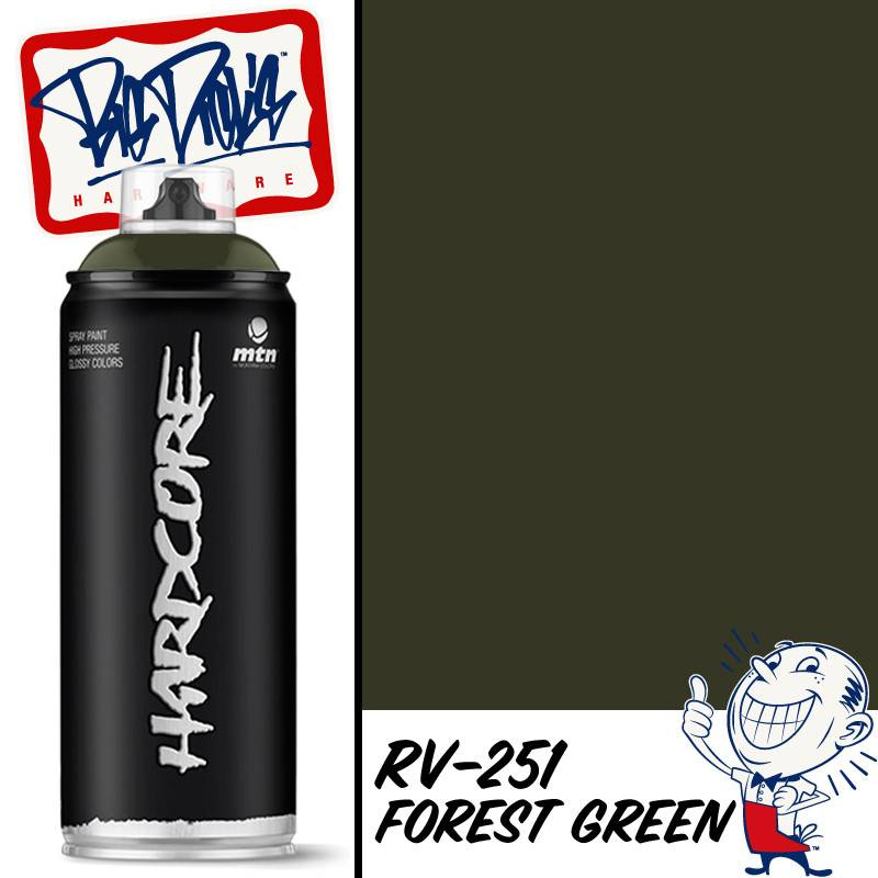 MTN Hardcore 2 Spray Paint - Forest Green RV-251