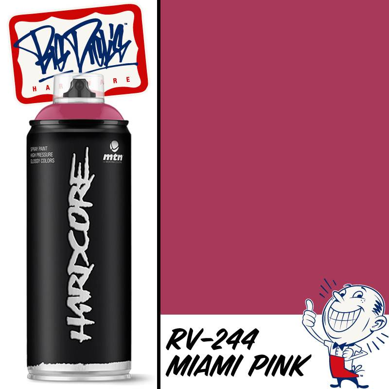 Mtn 2 Spray Paint Miami Pink Rv 244