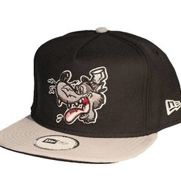 Dissizit NE Snapback - Big Bad Wolf - Black/Grey