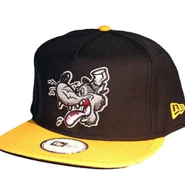Dissizit NE Snapback - Big Bad Wolf - Black/Yellow