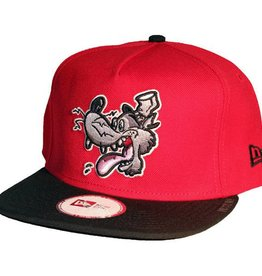 Dissizit NE Snapback - Big Bad Wolf - Red/Black