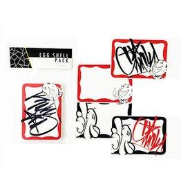 Eggshell Sticker Pack - Slick Slaps - 30pk