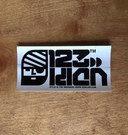 123 Klan Sticker - Loose