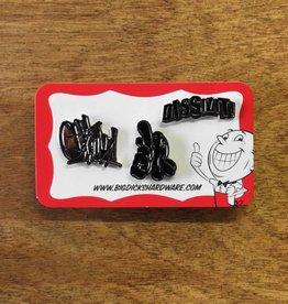 Dissizit Pin Set - Classic - Black