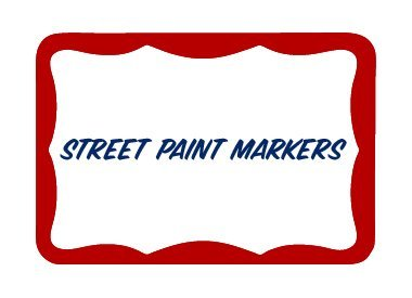 Street Paint Markers