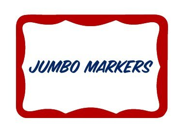 Jumbo Markers