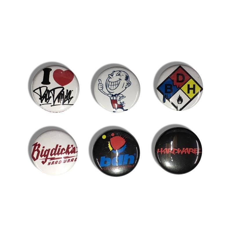 """BDH Button Pin Set - Spain (Size 1"""")"""