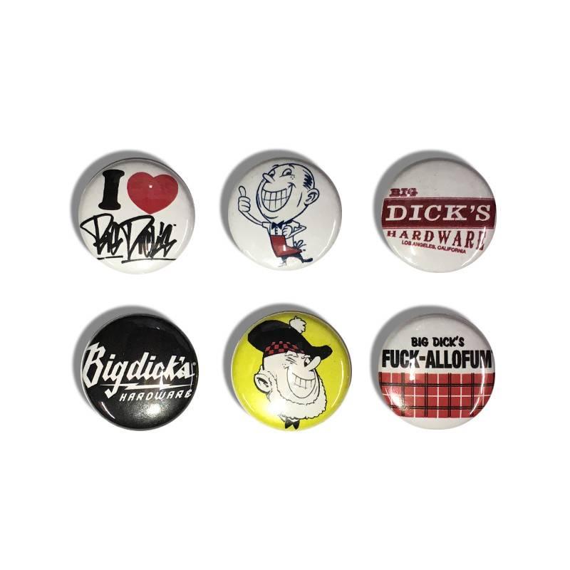 """BDH Button Pin Set - Scotty (Size 1"""")"""