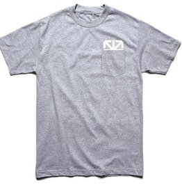 TSL Tee - CMYK Pocket - Heather