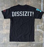 Dissizit Tee - D-Wing - Black
