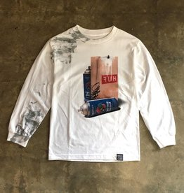 Dissizit LS Tee - FUH - White