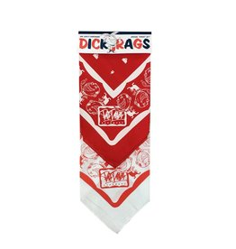 BDH Dick Rags - Red/Wht