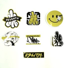 CC Sticker Pack - Gold