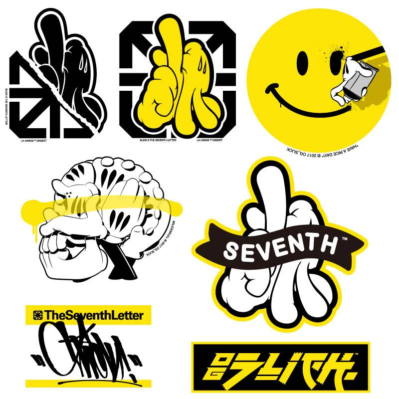 CC Sticker Pack - Yellow