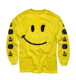 CC L/S Tee - Have A Rice Day - Yellow