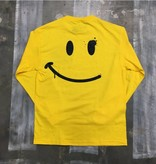 CC L/S Tee - Happy Spray Face - Yellow