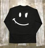 CC L/S Tee - Happy Spray Face - Black