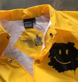 CC Coaches Jacket  - Have A Rice Day - Yellow