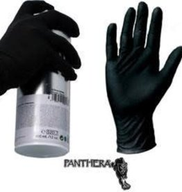 Panthera Latex Gloves - Black XLarge 90pk