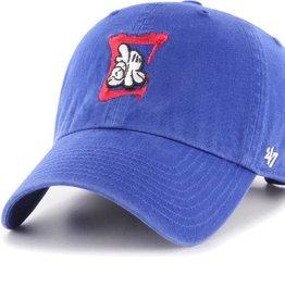 LA Clippers/OG Slick '47 Clean Up Hat - Royal Blue/Red