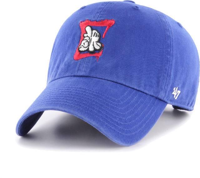 LA Clippers/OG Slick 47 Clean Up Hat - Royal Blue/Red