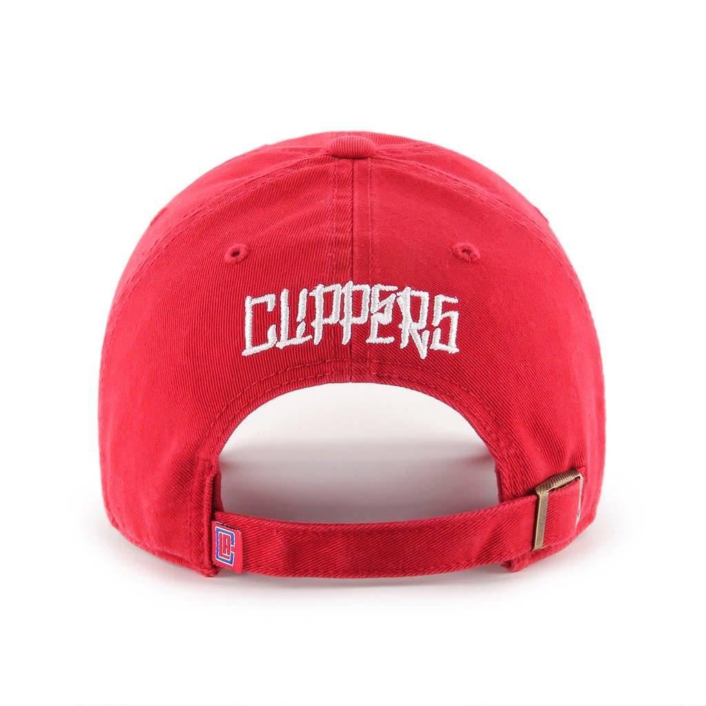 LA Clippers/OG Slick 47 Clean Up Hat - Red