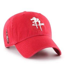 Houston Rockets/OG Slick '47 Clean Up Hat - Red